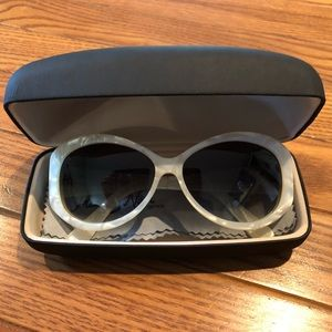 Handmade Tres Noir Mother of Pearl Sunglasses
